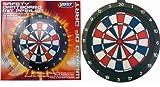 Best Sporting Safety Dartboard aus Kunststoff mit 6 Sicherheitspfeilen und Ersatzspitzen, Durchmesser: 46 cm