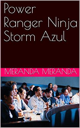Power Ranger Ninja Storm Azul eBook: Meranda Meranda: Amazon ...