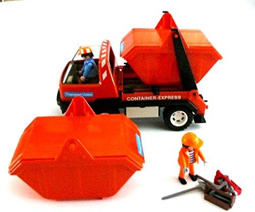 playmobil-r-lkw-container-express-3471-wagen-mir-2-containern-2-arbeiter-und-zubehor