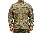 Noga Camouflage Combinaison Combat BDU uniforme militaire uniforme BDU Chasse Conséquence Wargame Paintball Manteau + Pantalon M cp camo