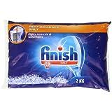Finish Salt Bag 2000 g (Pack of Eight)