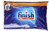 Finish Salz Tasche 2000g (Pack von acht)