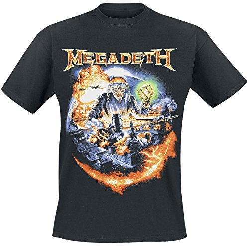 Megadeth -  T-shirt - Uomo nero Small