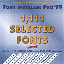 Budget Line - 1,111 Selected Fonts