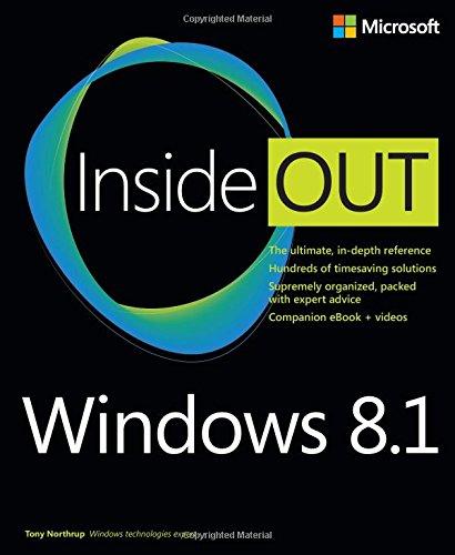 Windows 8.1 Inside Out por Tony Northrup