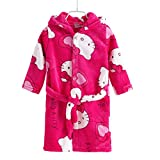 #3: Motherly Baby Bathrobe Bath Towel and Gown for Kids (Katie, Height 100 cm- for 2-4 Years Old)
