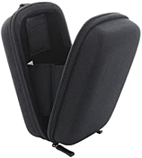 Kameratasche Hardcase Kompaktkamera M 2.0 Kamera Tasche für Canon PowerShot SX720 - Panasonic Lumix TZ71 TZ81 - Sony DSC HX60 HX90 - Schwarz