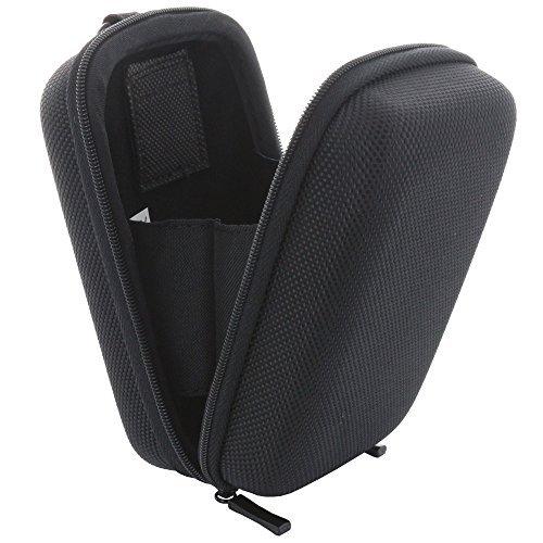 Kameratasche Hardcase Kompaktkamera M 2.0 Kamera Tasche für Canon PowerShot SX720 - Panasonic Lumix TZ71 TZ81 - Sony DSC HX60 HX90 - schwarz (Tasche Samt Gepolsterte)