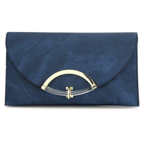 HT Envelope Bags, Poschette giorno donna Black