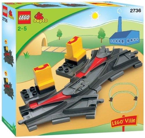 LEGO DUPLO Eisenbahn 2736 Weichen