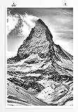 Eau Zone Home Bild - Landschaft Natur - Matterhorn in den