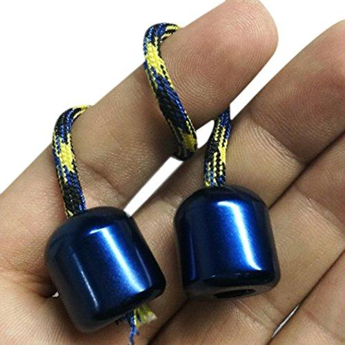 Preisvergleich Produktbild Hand Fidget kreative lustige Begleri Edelstahl Spielzeug Anti Stress Finger Übung Spielzeug (Blau)