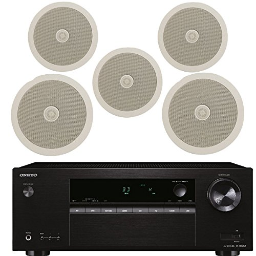 51-surround-sound-onkyo-amplifier-complete-with-5-ceiling-speakers-100m-cable