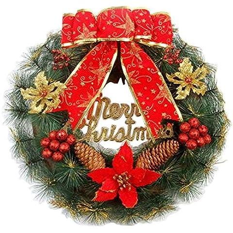 Guirnaldas de Navidad Guirnaldas Coronas de Navidad Decoración Rojo arco