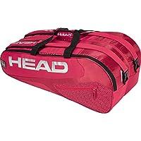 Head Elite 9R Supercombi Bolsa para Raquetas de Tenis, Color Red/Red, tamaño n/a