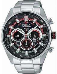 Pulsar PX5017X1 Men's Solar Sport Chronograph Watch
