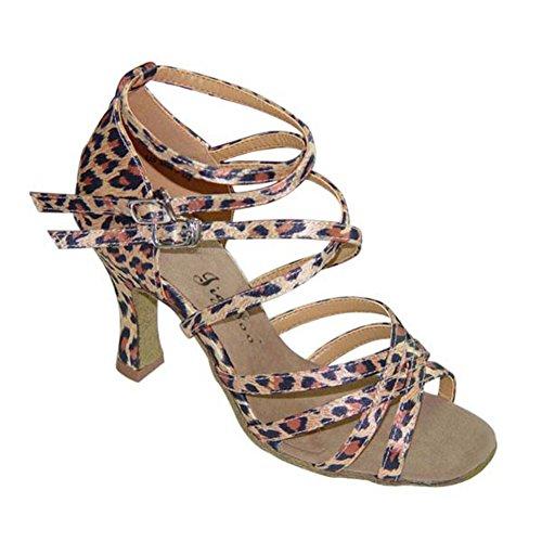 Damen Latein Tanzschuhe für Erwachsene/Weichen Boden Schuhe/Anti-Schiebe Verschleiß Tanzschuhe B