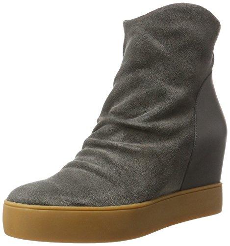 Trish S Stiefel, Grau (141 Dark Grey), 38 EU (Damen Grau Keil Stiefel)