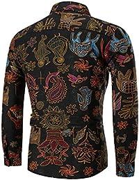 casual Amazon Camicie nera Abbigliamento Camicie it camicia PWqAwzv