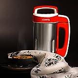 H.Koenig MXC18 Soup Maker frullatore, 850 W, 1.1 Litri, Acciaio Inossidabile, plastica, 4 velocità, Metallic