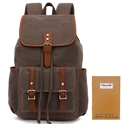 Imagen de kaukko  elegante en tela , bolsa de hombro excursionismo y viajes café claro