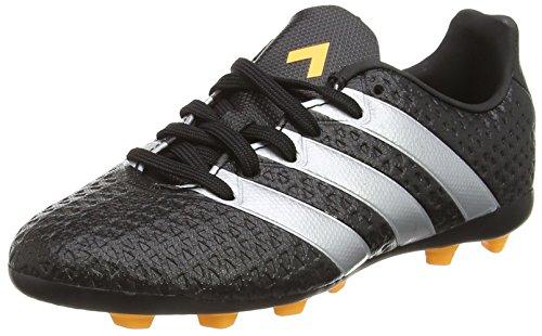 adidas Ace 16.4 FxG, Unisex-Kinder Fußballschuhe, Schwarz (Core Black/Silver Met./Solar Gold), 38 2/3 EU (5.5 Kinder UK)