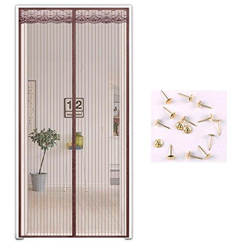 Love home in estate zanzariera magnetica, morbido porta finestra del salotto domestico di chiusura automatica di garza.-r-120x240cm(47x94inch)