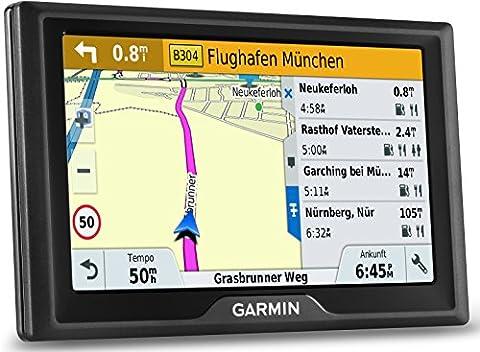 Garmin Drive 50 LMT CE Navigationsgerät (lebenslange Kartenupdates, Premium Verkehrsfunklizenz,