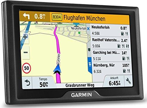 Garmin Drive 50 LMT CE Navigationsgerät (lebenslange Kartenupdates, Premium Verkehrsfunklizenz, 12,7cm (5 Zoll) Touchdisplay)