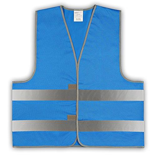 Preisvergleich Produktbild easyMesh® Signalweste Warnweste blau (Unisize) XL/XXL
