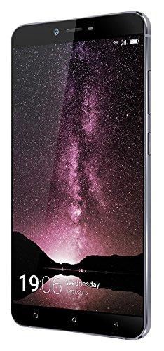 "Weimei Weplus - Smartphone de 5.5"" (Octa Core 1.3GHz, cámara trasera 13 MP, cámara frontal 5 MP, 3 GB de RAM, Dual SIM, memoria interna de 32 GB, Octa Core 1.3GHz, WeOS Android 5.1) gris"