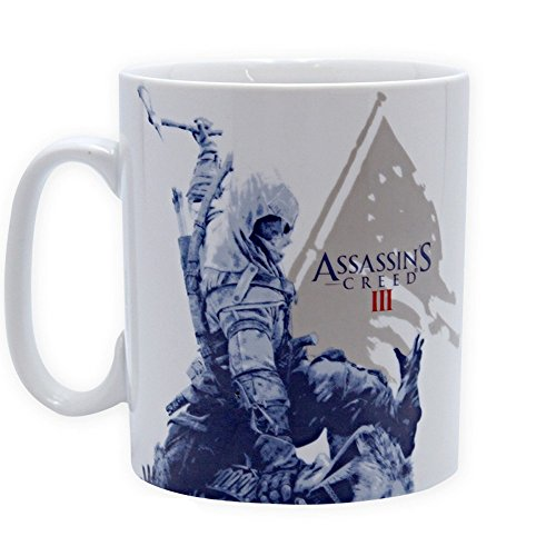 (Assassins Creed - Tasse Riesentasse 460ml - Connor - toll und stabil verpackt in einer Blisterbox!)