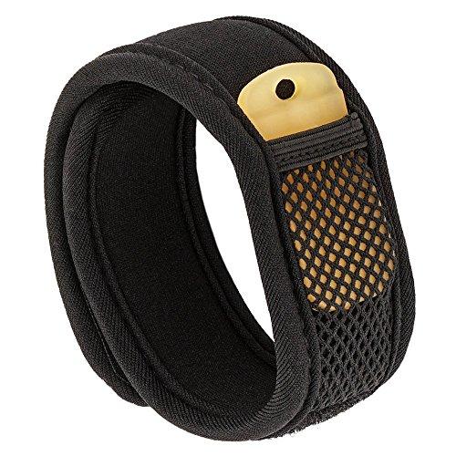 Mückenschutz Armband / Anti Insekten Armband mit zwei Nachfüllpackungen - 100% natürlich (Ohne Deet) Anti Moskito band Schwarz - Mehr als 700 Stunden Schutz - Mosquito/ Mückenschutz Für Kinder, Erwachsene und Hunde