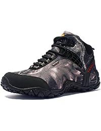 YaXuan Sneakers da uomo, Trekking all'aria aperta, Scarpe antiscivolo, Scarpe da passeggio per uomo estate - Scarpe scamosciate traspiranti, (Colore : C, Dimensione : 39)
