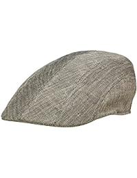 abd34b77fcc Rassow Alster Sportmütze Flatcap aus Baumwolle und Leinen - anthrazit
