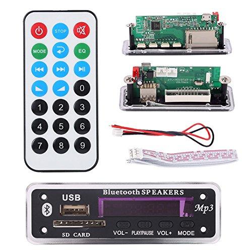 OYOTRIC Bluetooth MP3 Decodierung Modul WMA USB TF Radio / SD Kartensteckplatz / USB / FM / Remote Decoding Modul Mp3-player-w Sd-card