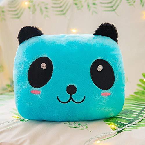 YYYDHW Peluche Panda rougeoyante Peluche géante Veilleuse Poupée Veilleuse Saint-Valentin@Oreiller de Panda Bleu_Lumineux