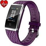 Willful Fitness Tracker Smartwatch Orologio Cardiofrequenzimetro da Polso Donno Uomo Bambini Android...