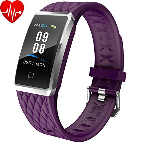 Willful Smartwatch Orologio Fitness Trakcer Donna Uomo Cardiofrequenzimetro da Polso Smart Watch Contapassi Android iOS Impermeabile IP68 Smartband Bambini Sportivo Bracciale per Xiaomi Huawei iPho