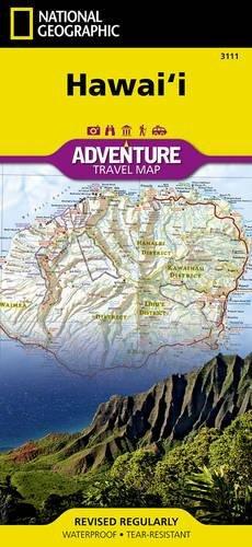 National Geographic Hawaii Map: Travel Maps International Adventure Map