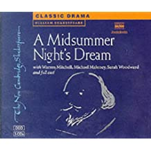 A Midsummer Night's Dream 3 Audio CD Set: Performed by Warren Mitchell & Cast (New Cambridge Shakespeare Audio)