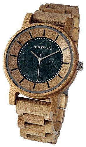 LAiMER Holzuhr NICO - Herren Armbanduhr aus 100% Ahornholz und Zürgelbaumholz für einzigartigen Tragekomfort und Lifestyle - natürlich, federleicht, Südtirol