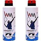 LAWMAN PG3 2 Challenger Deodorant Spray - For Men (420 Ml, Pack Of 2)