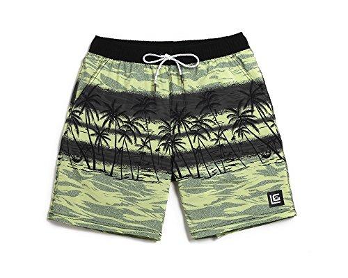 Lantra Besa CSM0021 Wasserabweisend Schnelltrocknend Herren Männer Badehose  Badeshorts Knielang Boardshorts Beach Shorts für Wassersport im