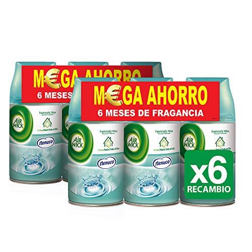 Air Wick Freshmatic, Esencia para el hogar - 6 de 250 ml. (Total 1500 ml.) (precio: 19,99€)