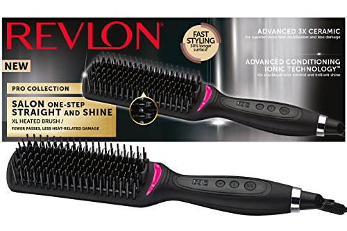Revlon Pro Collection Rvst2168 Salon One Step - Cepillo alisador de pelo (recto y brillante)