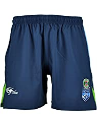 NSW New South Wales Blues State Of Origin Rugby League Training Shorts