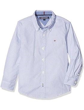 Tommy Hilfiger C Geo Print Shirt L/S, Blusa para Niños