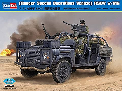 HBB82450 - Hobbyboss 1:35 - RSOV W/MG (Ranger Special Operations Vehicle)