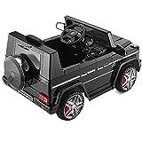 Playkin - Mercedes-Benz 4X4 G65 Negro Coche Infantil de batería, Color AMG